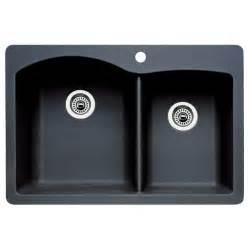 undermount granite kitchen sink shop blanco basin drop in or undermount