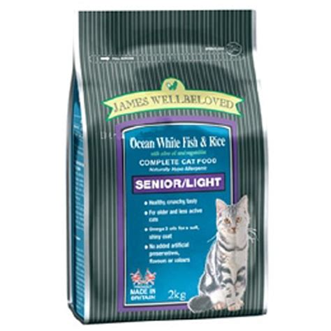 senior light dry dog food james wellbeloved senior light cat food