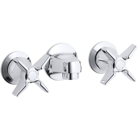 Commercial Sink Faucets Wall Mount by Kohler Triton Commercial 2 Handle Wall Mount Commercial