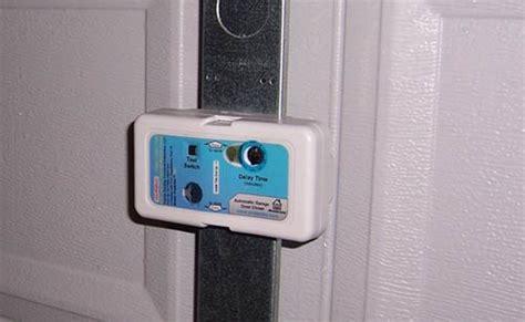 garage door automatic closer protectrix automatic garage door closer the gadgeteer