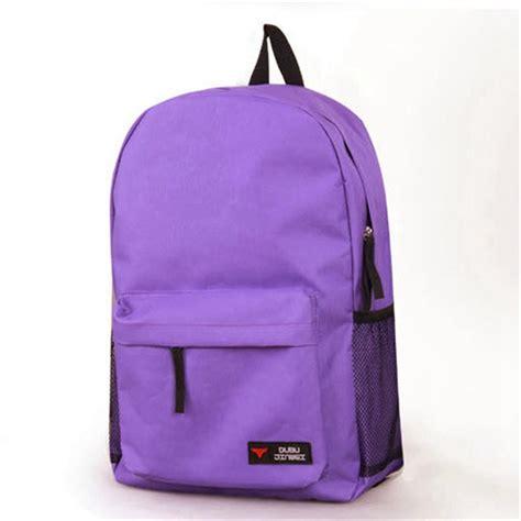 Plain Backpack canvas plain backpack travel school shoulder