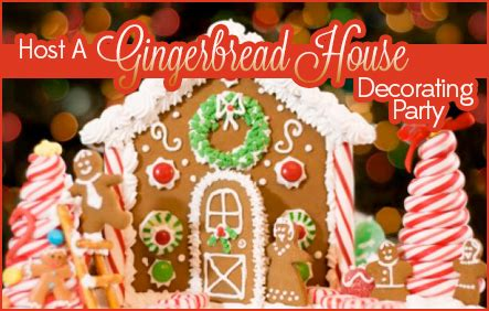 host a christmas ornament making party host a gingerbread house decorating