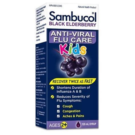 Sambucol For Cold Flu 120ml Murah buy sambucol black elderberry anti viral flu care for at well ca free shipping 35 in canada