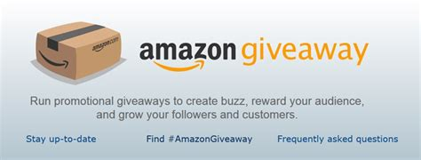 Blog Giveaway Tool - amazon launches giveaway tool