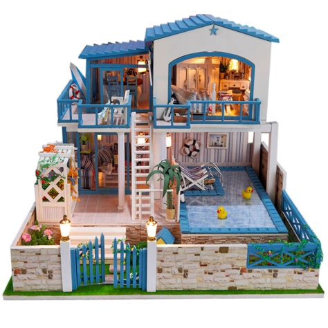 cheap wooden dolls house popular large dollhouse furniture buy cheap large dollhouse furniture lots from china