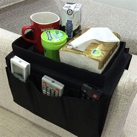 sofa caddy organizer home remote control caddy organizer 6 pocket holder sofa