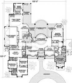 5 Bedroom House Plans 1 Story Contemporary Style House Plans 5318 Square Foot Home 1