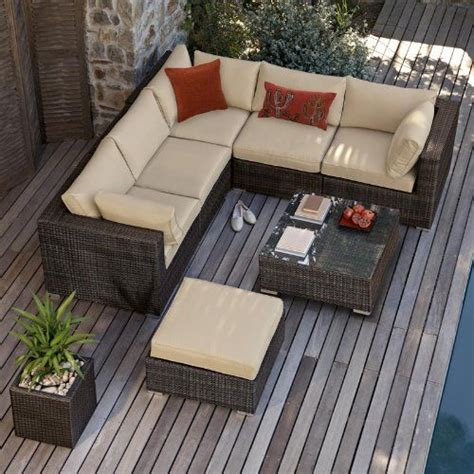 corner sofa outdoor furniture all weather corner outdoor rattan garden furniture sofa