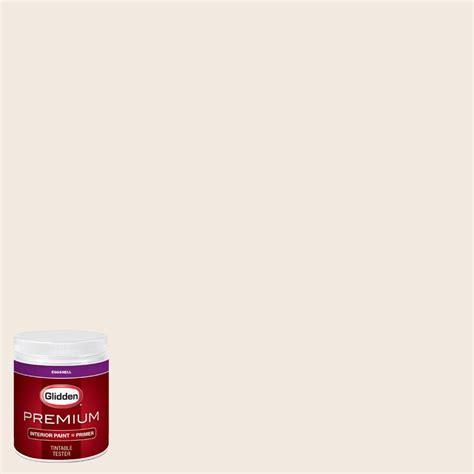 glidden premium 8 oz hdgwn03 antique white eggshell interior paint with primer tester hdgwn03p