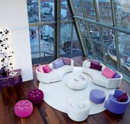 colorful furniture sets for creative living room interiors