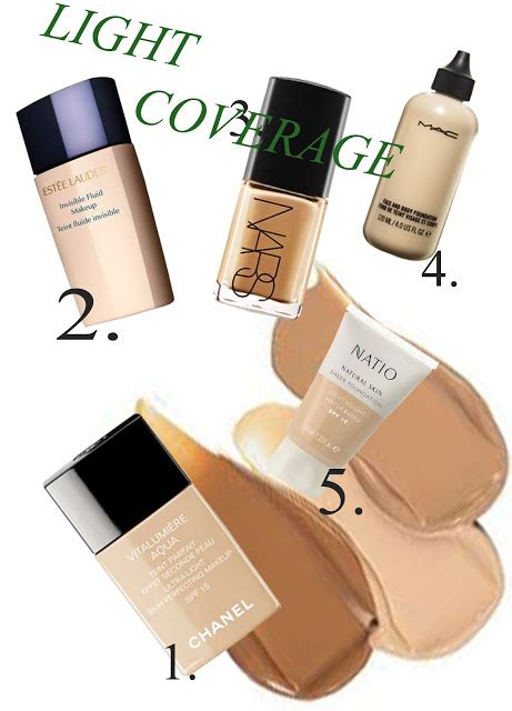 light coverage foundation for oily skin beaut 233 gazette a foundation guide for all skin types