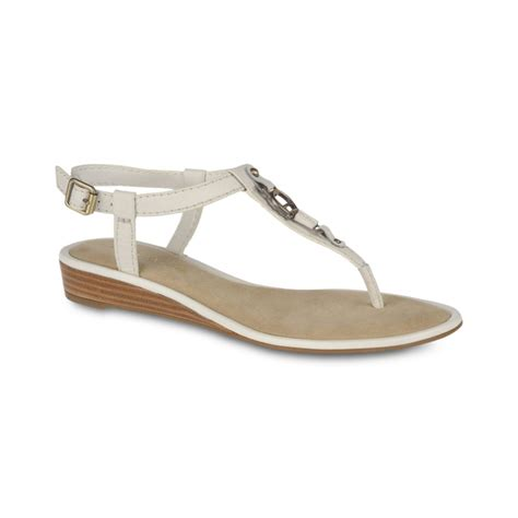 aigner sandals etienne aigner sandals in white lyst