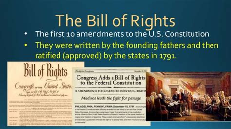 the introductory section of the us constitution the bill of rights introduction