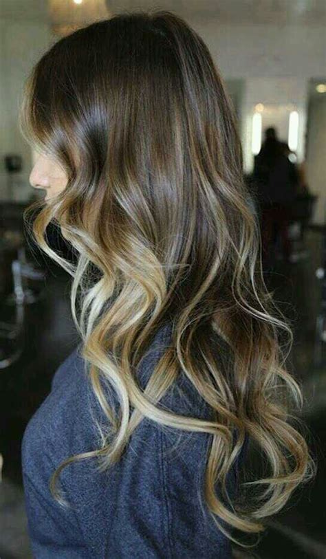 blonde ombre highlights subtle subtle balayage ombre colour hair pinterest