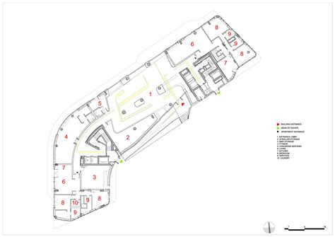 zaha hadid floor plans gallery of citylife apartments zaha hadid architects