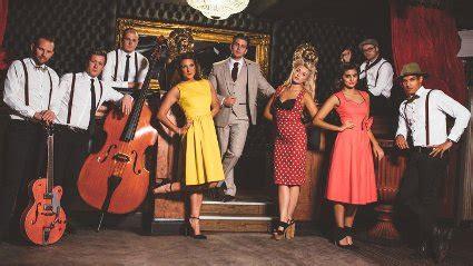 best modern swing bands hire modern swing band postmodern jukebox band tribute