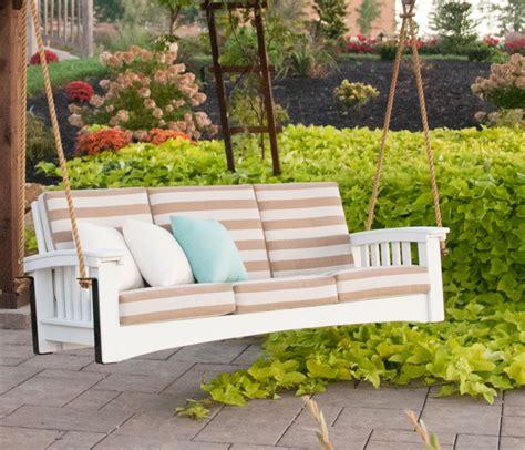 low swing sofa rope swing hershy way outdoor furniture holmes