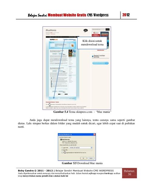 membuat website cms cara membuat website gratis