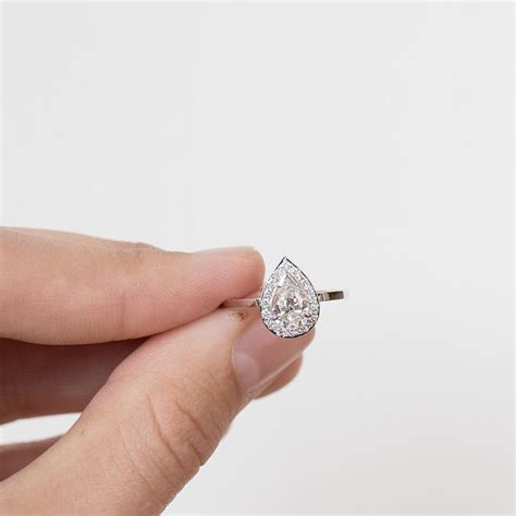 1000 ideas about teardrop engagement rings on