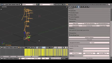 blender tutorial addon blender motion capture addon tutorial 7 baking and