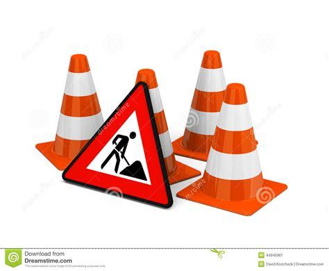 Baustellenschild Vektor Free by Construction Site Stock Illustration Image 44945961