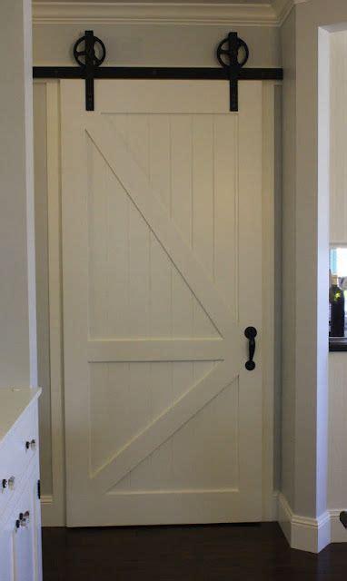 Sliding Barn Door For Pantry Craftsman Interior Sliding Barn Door Pantry