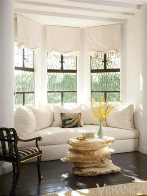 window treatments for bay windows in living room ideas for bay window treatments in the living room the
