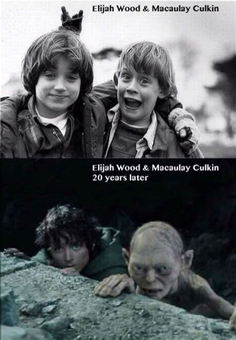 Macaulay Culkin Memes - elijah wood and macaulay culkin 20 years later weknowmemes