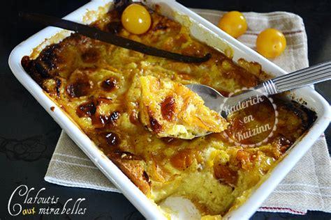 recettes de cuisine am駻icaine clafoutis mirabelles 224 la vanille recette de cuisine