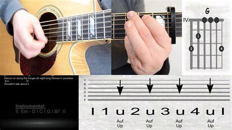 Stolen Guitar Chords