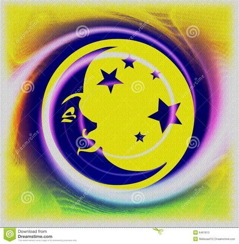imagenes abstractas de la luna luna abstracta fotos de archivo imagen 6461813