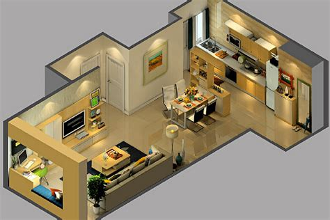 smallhomeplanes 3d isometric views of small house plans 3d view of house interior design design decoration
