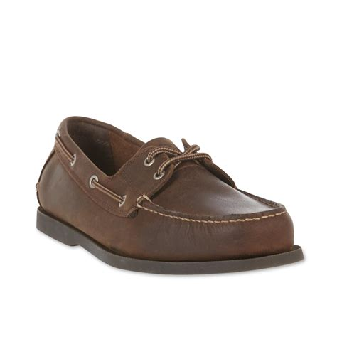 boat shoes online shopping dockers men s vargas leather boat shoe brown shop your
