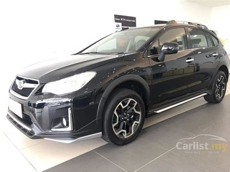2017 subaru crosstrek black subaru xv 2017 crosstrek 2 0 in johor automatic suv black