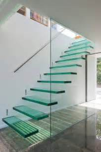 Modern Glass Stairs by Modern Stairs Modern Glass Stairs At The Etoile Du Nord