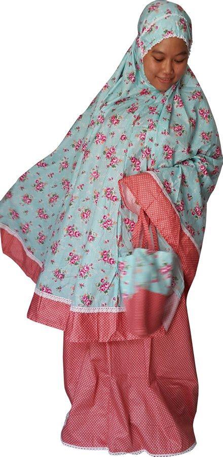 Mukena Katun Jepang Warna Dasar Hitam Toska Motif Buah mukena katun jepang bunda toko bunda
