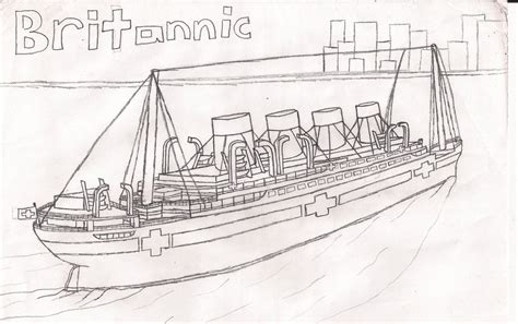 Britannic Coloring Pages Britannic Sailing By Dragonmaster616 On Deviantart
