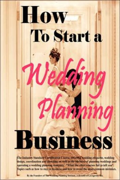 how to start a wedding planning business by cho phillips