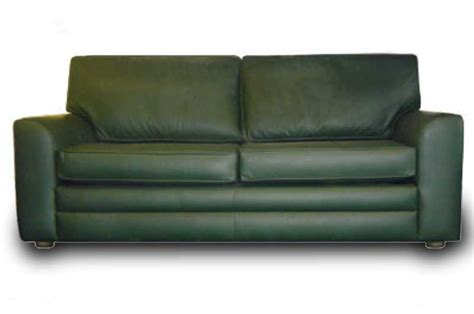 green leather sofa home furniture design