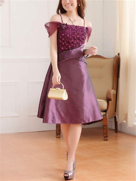 Purple Party Dress Philippines | purple plus size lace off shoulder knee length dress for