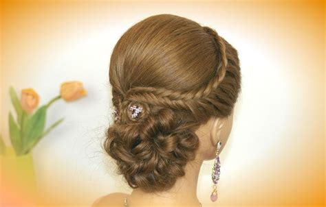 russian hairstyles braids easy prom hairstyle for long hair bridal updo braids