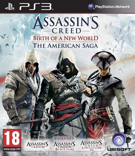 Bd Ps3 2nd Assasins Creed 3 ubisoft announces assassin s creed birth of a new world the american saga gamer assault weekly