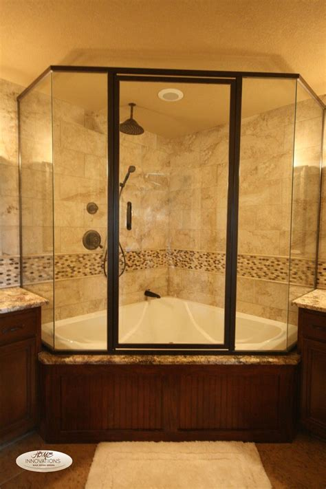 corner bath with shower enclosure best 25 tub shower combo ideas on shower bath