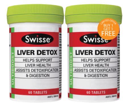 Liver Detox Swisse Vits by Swisse Ultiboost Liver Detox