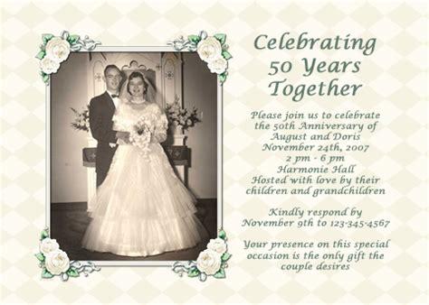 parents 50th wedding anniversary ideas ehow uk