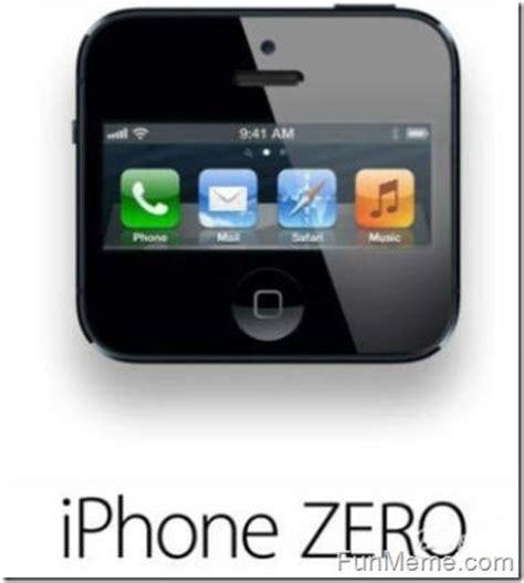is the iphone iphone zero iphone 5 jokes zero and iphone