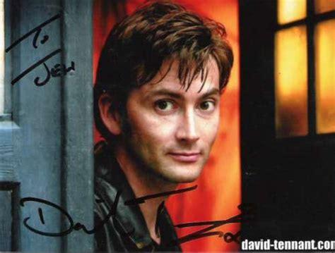 david tennant autograph jembie autograph collector david tennant