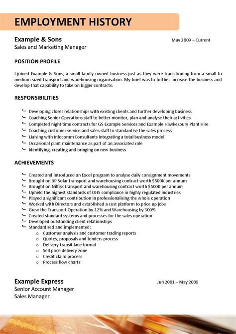 Truck Driver Resume Template by We Can Help With Professional Resume Writing Resume