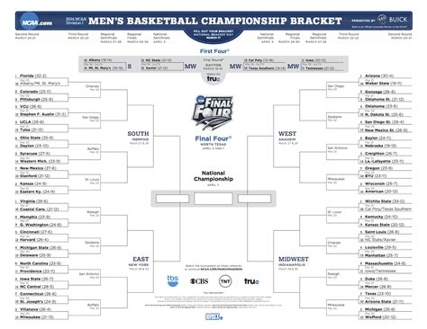 march madness 2014 bracket full ncaa tournament bracket join our 2014 ncaa tournament bracket challenge