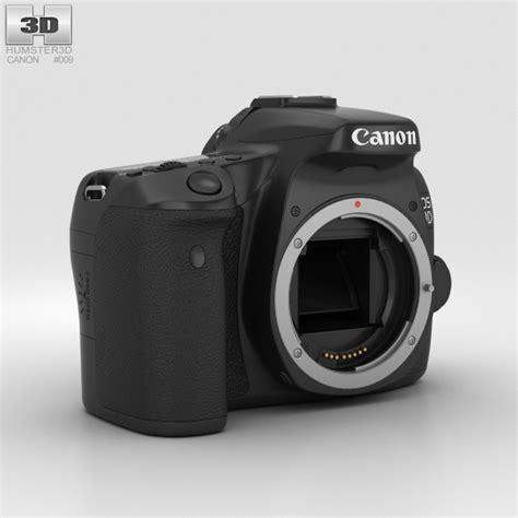 canon 3d canon eos 70d 3d model hum3d